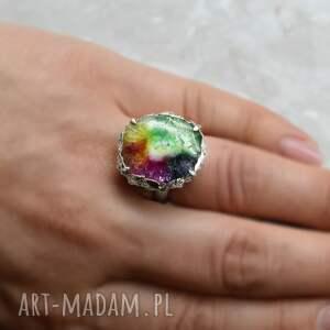 nietuzinkowe pierścionki solar radość życia pierścionek z kwarcem