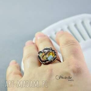 niesztampowe pierścionki pierścionek ratri -