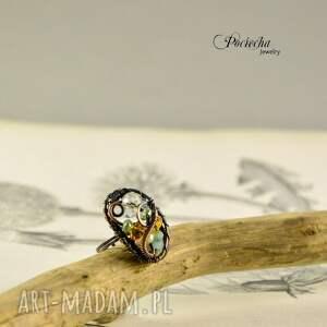 niesztampowe pierścionki uniwersalny ratri - pierścionek