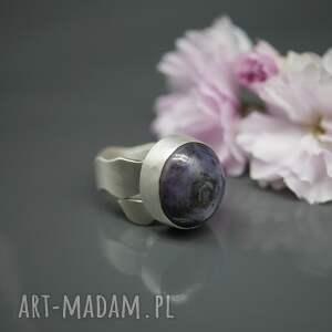 rubin gwiaździsty - pierścionek