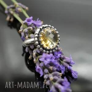 pierścionek sari - srebrny