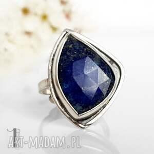turkusowe regulowany scilla - srebrny pierścionek