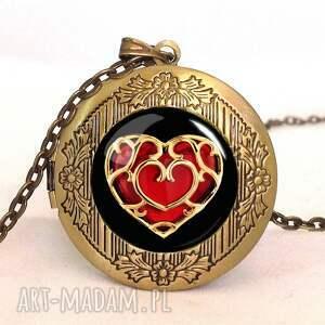 serce pierścionki - pierścionek regulowany