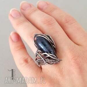 929 skadi - srebrny pierścionek