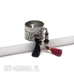 pierścionki srebro snake /boho/ - pierścionek