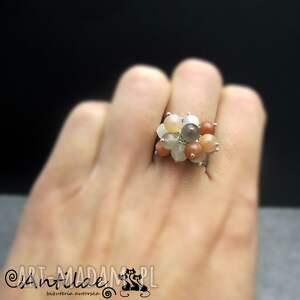 pierścionki pierścionek soleado - srebro, kamień księżycowy