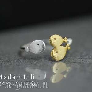 niepowtarzalne pierścionki pierścionek 925 srebrny rodzina