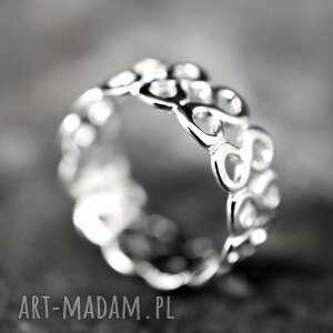 gustowne pierścionki srebro 925 srebrny pierścionek