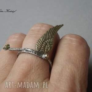 pierścionki cyrkonia angel vol. 2 - pierścionek