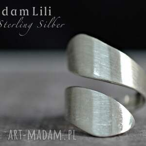 pierścionki srebro 925 minimalistyczny