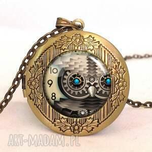 pierścionki sowa steampunkowa - pierścionek