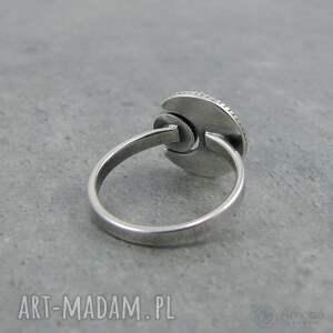 tajemniczy pierścionki w ramionach księżyca - lapis lazuli