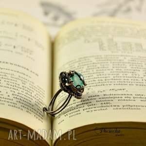 pierścionki agat waruna - pierścionek z agatem