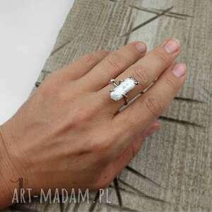 trendy pierścionki biwa wild pearl - bpearl srebrny