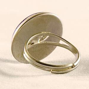 pierścionki pierścionek witraż - regulowany