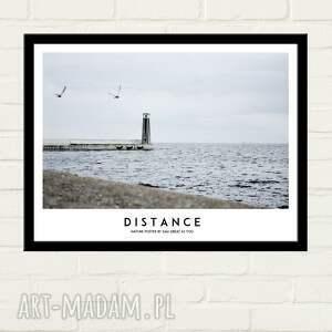 plakaty plakat distance 30x40