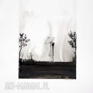 plakaty obrazy ręcznie malow grafika 50x70 cm wykonana