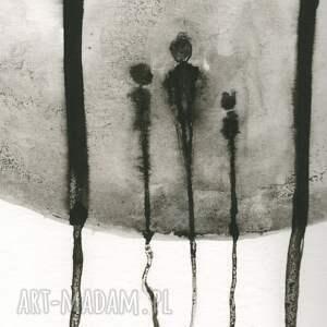 modne plakaty obrazy ręcznie malowane grafika 50x70 cm wykonana