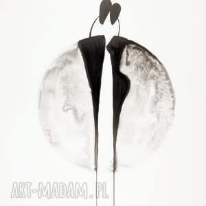 gustowne plakaty minimalizm grafika 50x70 cm wykonana ręcznie