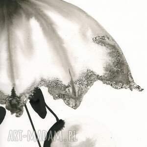 minimalizm plakaty białe grafika 50x70 cm wykonana ręcznie