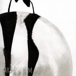 minimalizm plakaty grafika 50x70 cm wykonana ręcznie