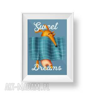 gustowne plakaty dziecięcy plakat a3 sweet dreams