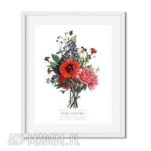 wnętrze plakaty plakat b2 kwiaty