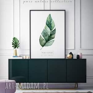 FajnyMotyw Plakat B2 Liście - dekoracja