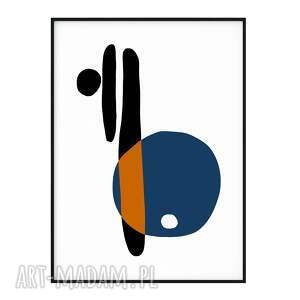 modne plakaty plakat skandynawski minimalistyczny