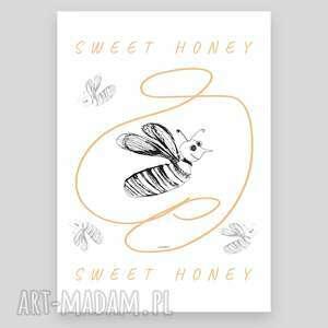 wyjątkowe plakaty śmieszny plakat z pszczołą