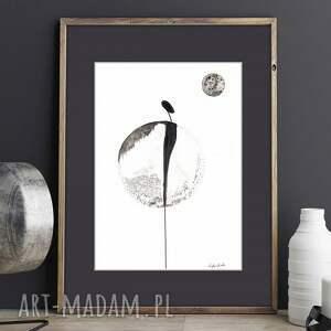 plakaty romantyczny zestaw 2 grafik czarno białych
