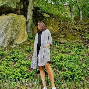 czarne płaszcze sainttropez kimono damskie - płaszcz - sukienka saint