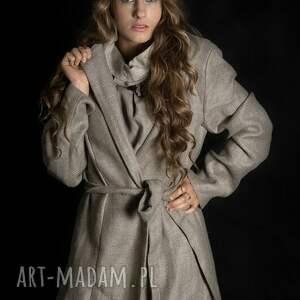 lniany płaszcze płaszcz