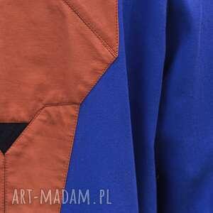 trench płaszcze niebieski lis