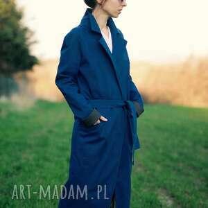 płaszcze zwierzę niebieski z lisem