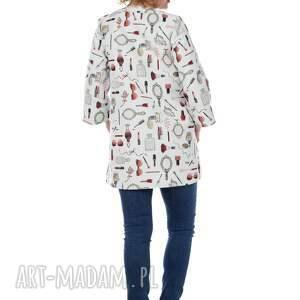 De La Fotta urokliwe płaszcze wiosna niezwykły, designerski