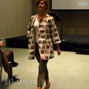 płaszcze ekstrawagancki niezwykły, designerski płaszcz