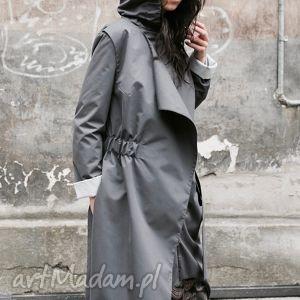 płaszcze przeciwdeszczowy płaszcz asymetryczny