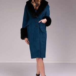turkusowe płaszcze moda płaszcz chloe
