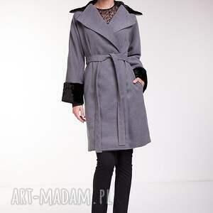 ręczne wykonanie płaszcze moda płaszcz leonor