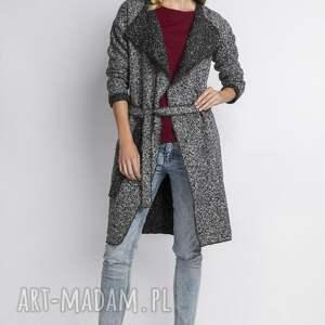 unikalne płaszcze płaszcz płaszcz, pa102 szary