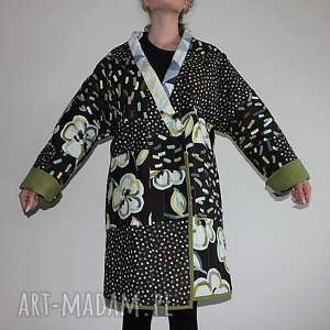 trendy płaszcze płaszcz patchworkowy długi
