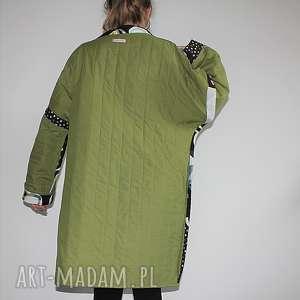 boho płaszcze płaszcz patchworkowy długi