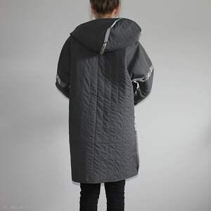 waciak płaszcze płaszcz patchworkowy długi