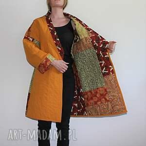 płaszcze orientalny płaszcz patchworkowy długi