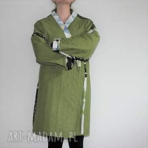 trendy płaszcze boho płaszcz patchworkowy długi