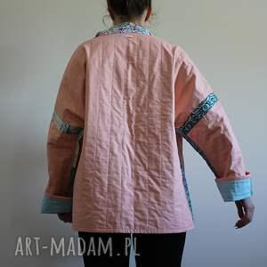 patchwork płaszcze płaszcz patchworkowy - waciak