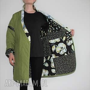 płaszcze boho płaszcz patchworkowy długi