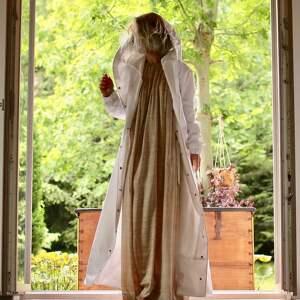 Płaszcz Przeciwdeszczowy Biały