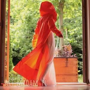 efektowne płaszcze długi płaszcz przeciwdeszczowy